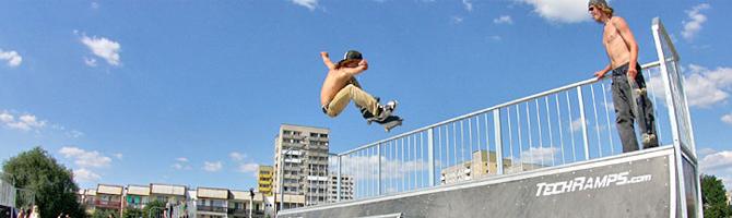 Skate Parki Techramps