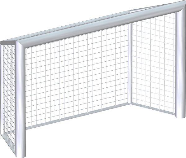 Render isometric view of Goal